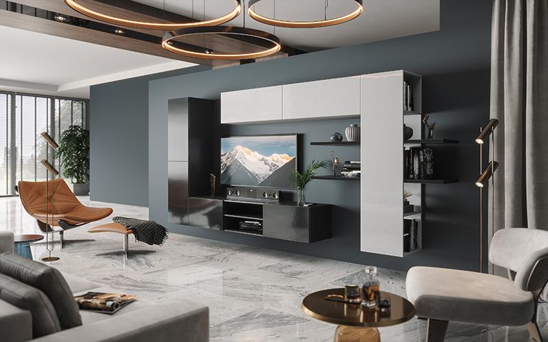 Набор мебели для жилой комнаты «Альда»