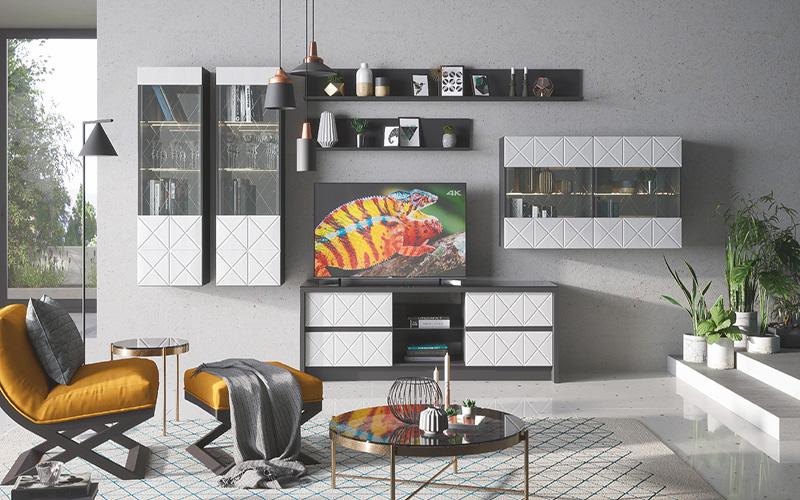 Набор мебели для жилой комнаты «Монако»