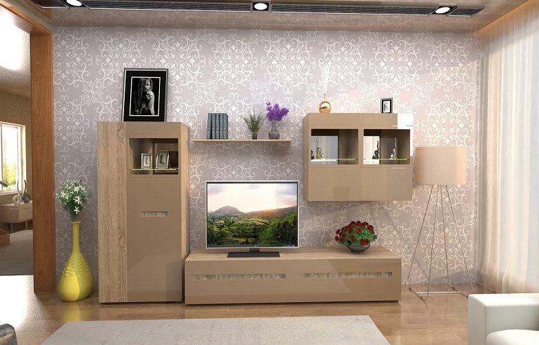 Набор мебели для жилой комнаты «Арчи» КМК 0758