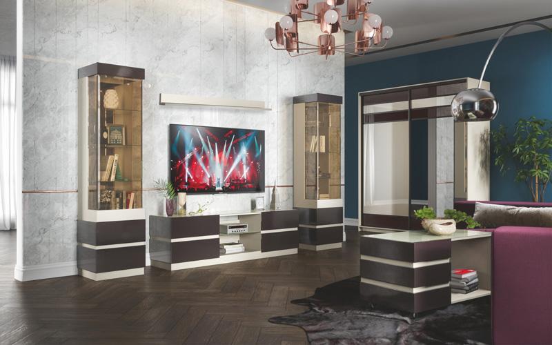 Набор мебели для жилой комнаты «Хилтон»
