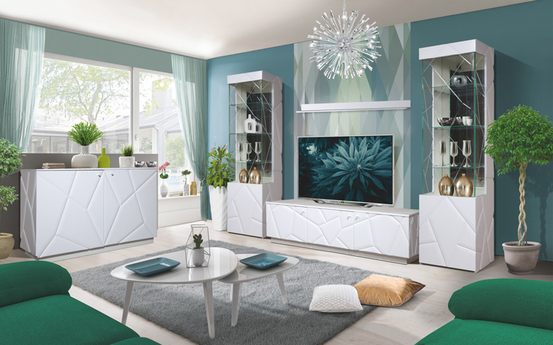 Набор мебели для жилой комнаты «Кензо»