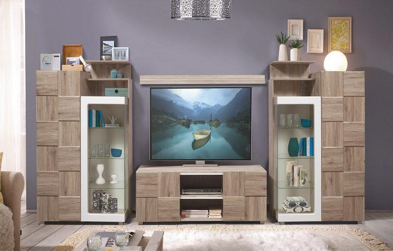 Набор мебели для жилой комнаты «Риксос» КМК 0644