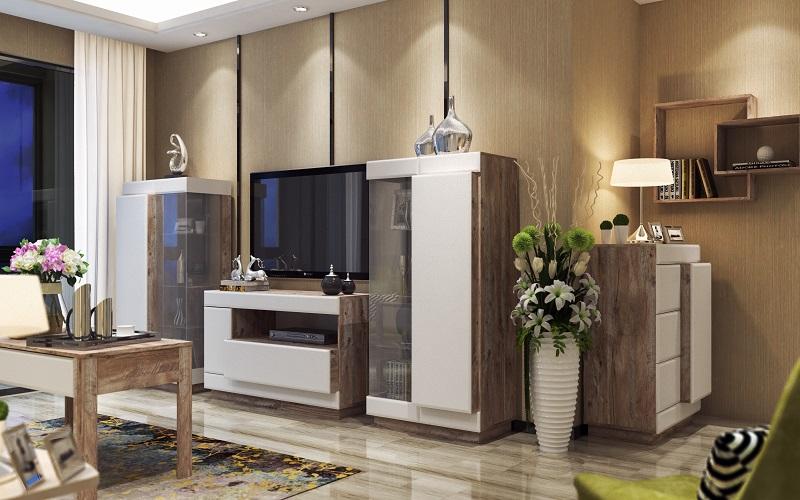 Набор мебели для жилой комнаты «Роксет»