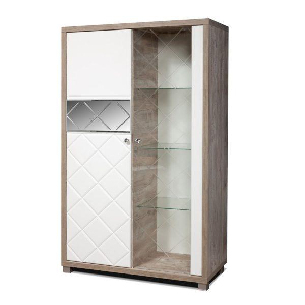 Шкаф с витриной «Л Кристал»