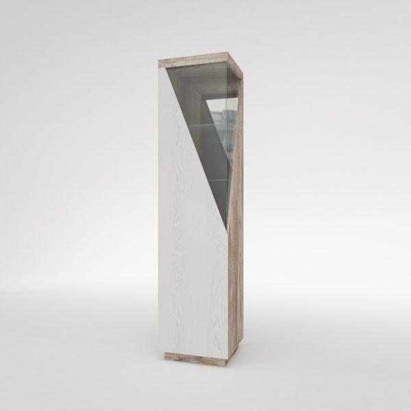 Шкаф с витриной «Л Лайт»