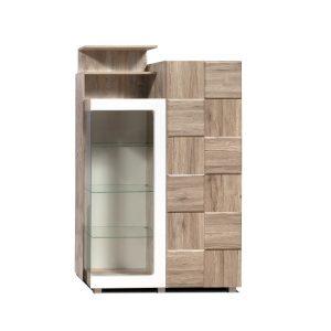Шкаф с витриной «П Риксос»