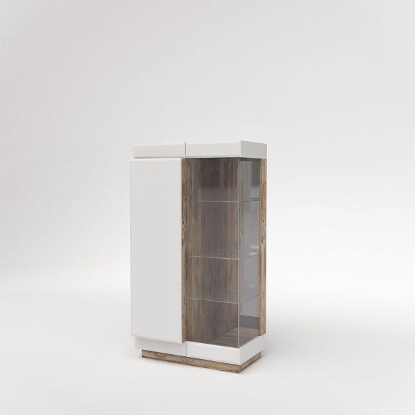 Шкаф с витриной «Л Роксет»