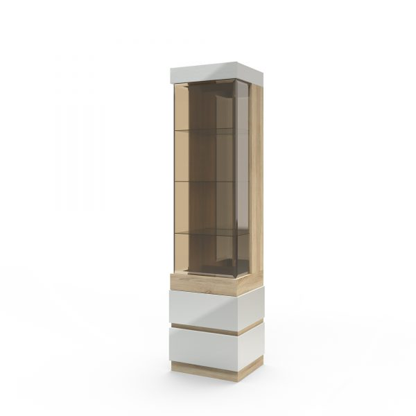 Шкаф с витриной «П Хилтон»