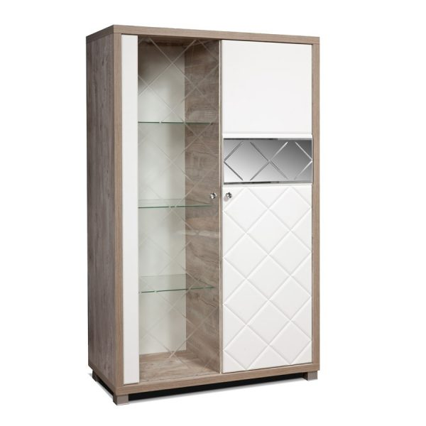 Шкаф с витриной «П Кристал»