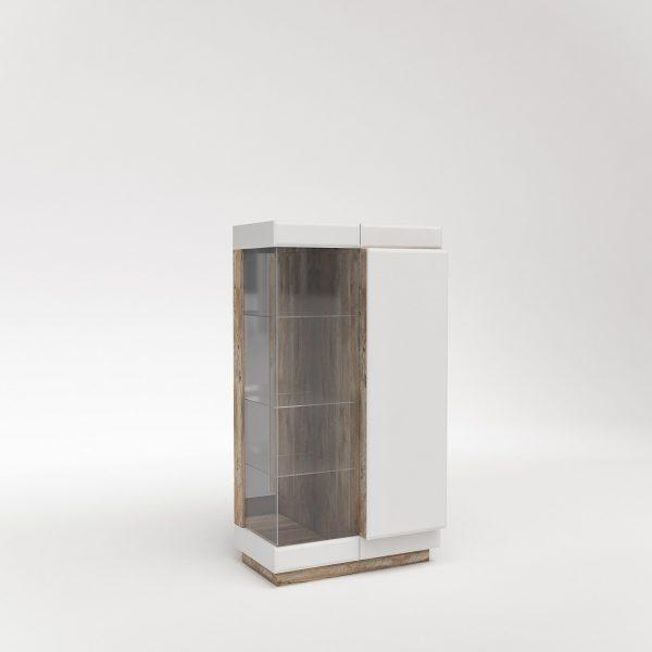 Шкаф с витриной «П Роксет»
