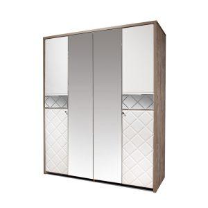 Шкаф для одежды «4Д Кристал»