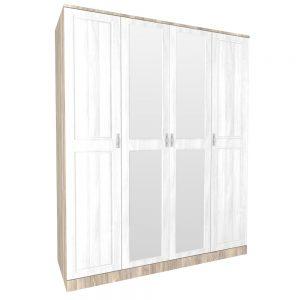 Шкаф для одежды «4Д Марсела»