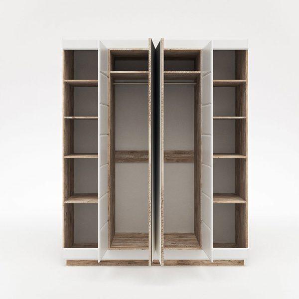 Шкаф для одежды «4Д Роксет»