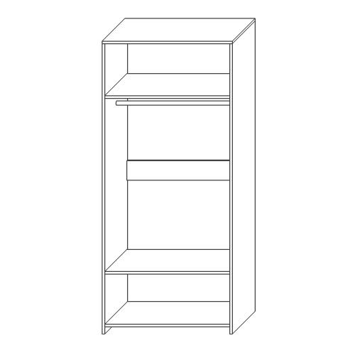 Шкаф для одежды «Бамбино 1»