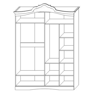 Шкаф для одежды «Жемчужина»