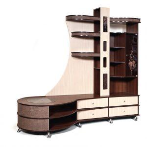 Шкаф комбинированный «С тумбой Л»