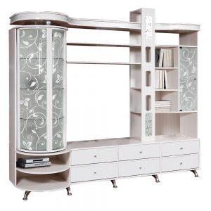 Шкаф комбинированный «С витриной Л»