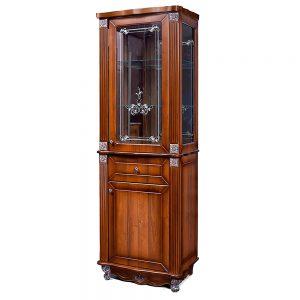Шкаф с витриной «2Д1Я Баккара» (Левая/Правая)