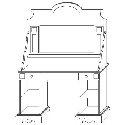 Стол туалетный «Амелия»