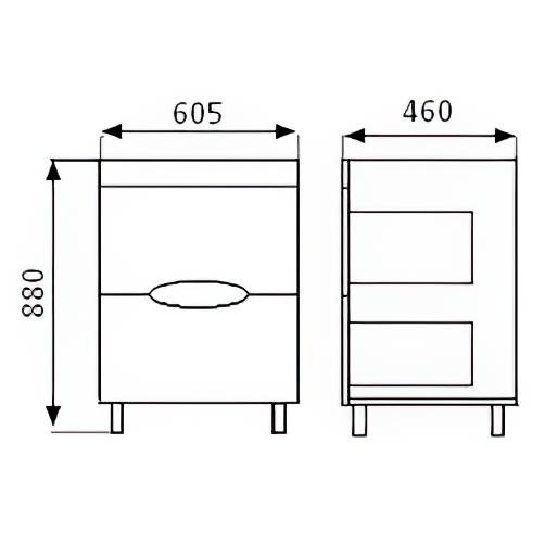 Тумба под раковину «620 Ниагара»